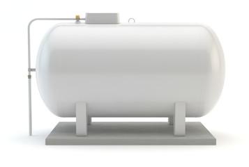 White Gas Tank