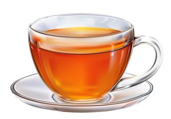 Сup with tea