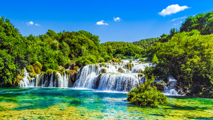 Waterfalls Krka, Croatia