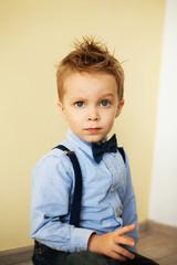 Stylish little boy