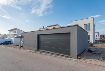Geräumige Garage in Neubaugebiet