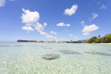 グアム タモン湾の風景