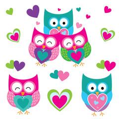 Cute owl vector design