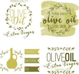 Olio d'Oliva extra vergine, banner