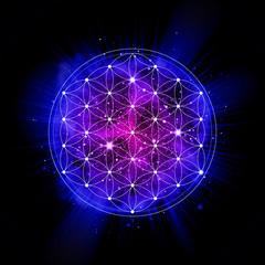 Sacred geometry. Alchemy, religion, philosophy, spirituality illustration