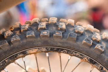 Tyre of motocross