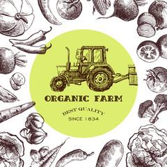 eco farm sketch