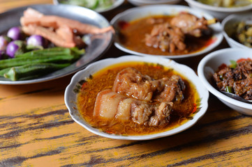 Myanmar Pork Curry
