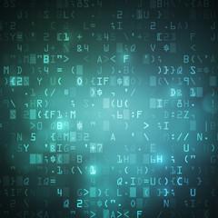 Internet wireless computer digital data code background