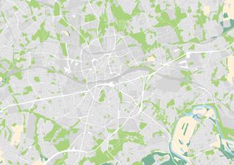 Vektor Stadtplan von Essen