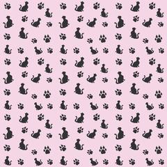 Animals pattern seamless background