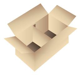 Cardboard box icon