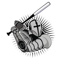 Vector baseball logo, team logo emblems.