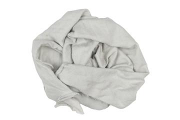 rag on white background