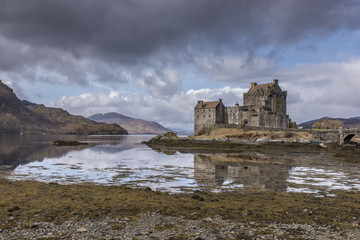 Shot of Eilean Donnan Castle