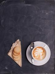 Cup of Coffee on a Blackboard