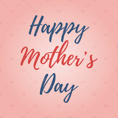 Happy mother's day background.