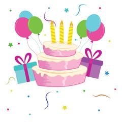 Happy birthday greetings cartoon