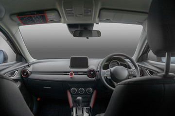 車の運転席 運転室