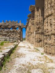 Tempel der Hera, Tempel E der Zeusgattin Hera (Juno), Selinunt, Marinella, Sizilien, Italien