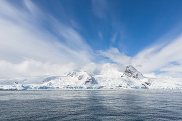 Poster Antarctica Snow and ices of the Antarctic islands