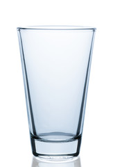 emtpy water glass