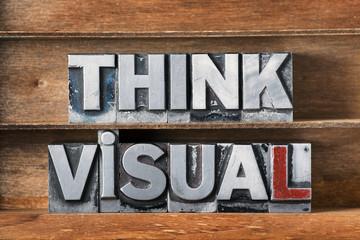 think visual tray Wall mural