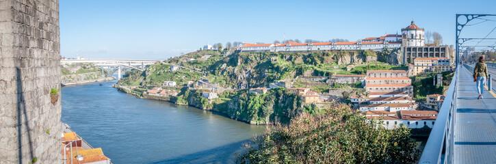 Panorama depuis le pont Louis I de Porto