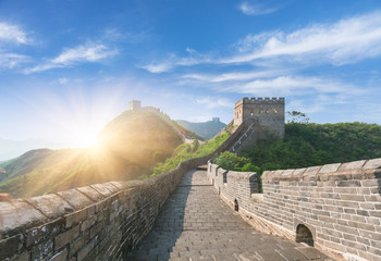Poster de jardin Chine greatwall