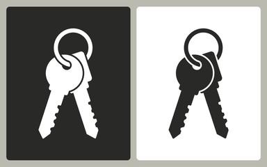 Key - vector icon.