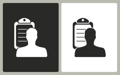 Personal - vector icon.
