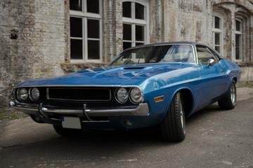 Foto op Plexiglas Cubaanse oldtimers US Cars