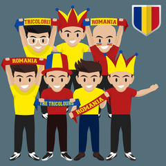 Soccer / Football Supporter / Fans from Romania