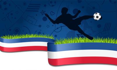 EM 2016 Fussball Banner