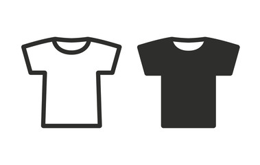 T-shirt - vector icon.