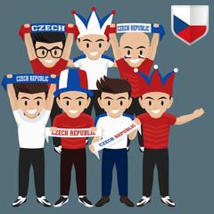 Soccer / Football Supporter / Fans from Czech Republic