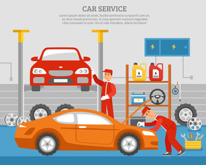 Mechanical Services Of Car