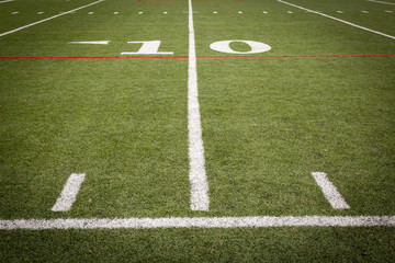 Football playing Field markings