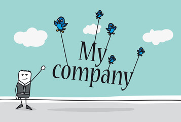 My Company - Start a business