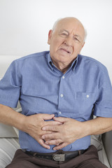 Man with Stomach Ache