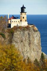 Split Rock Lighthouse on Lake Superior in Minnesota