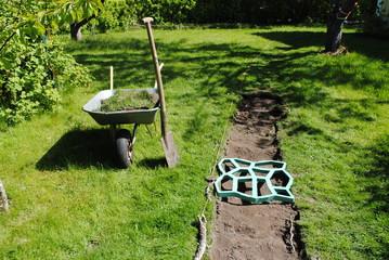 Bilder und videos suchen gartenweg - Gartenweg bauen ...