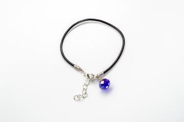 Feminine bracelet isolated on white background