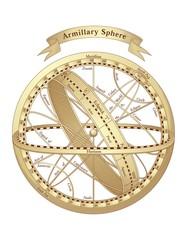 Armillary Sphere Vector