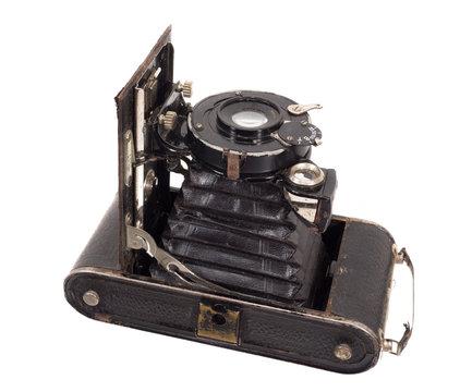 alter antiker fotoapparat, vintage kamera