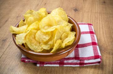 Patatas fritas tradicionales