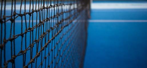 Tennisnetz.