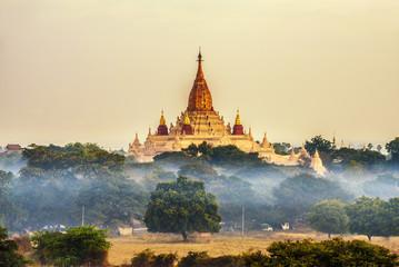 Garden Poster Temple Ananda temple in Bagan, Myanmar