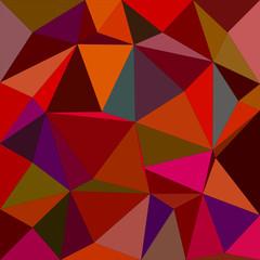 Dark color irregular triangle mosaic background
