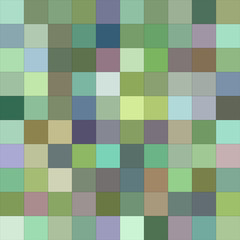 Abstract color square mosaic background design